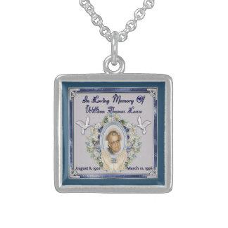 In Memory Of Dad Necklaces Amp Lockets Zazzle