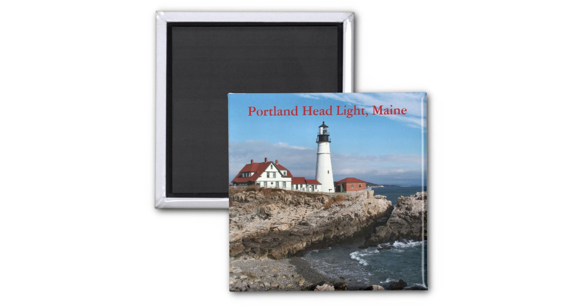 Portland Head Light Maine Magnet Zazzle