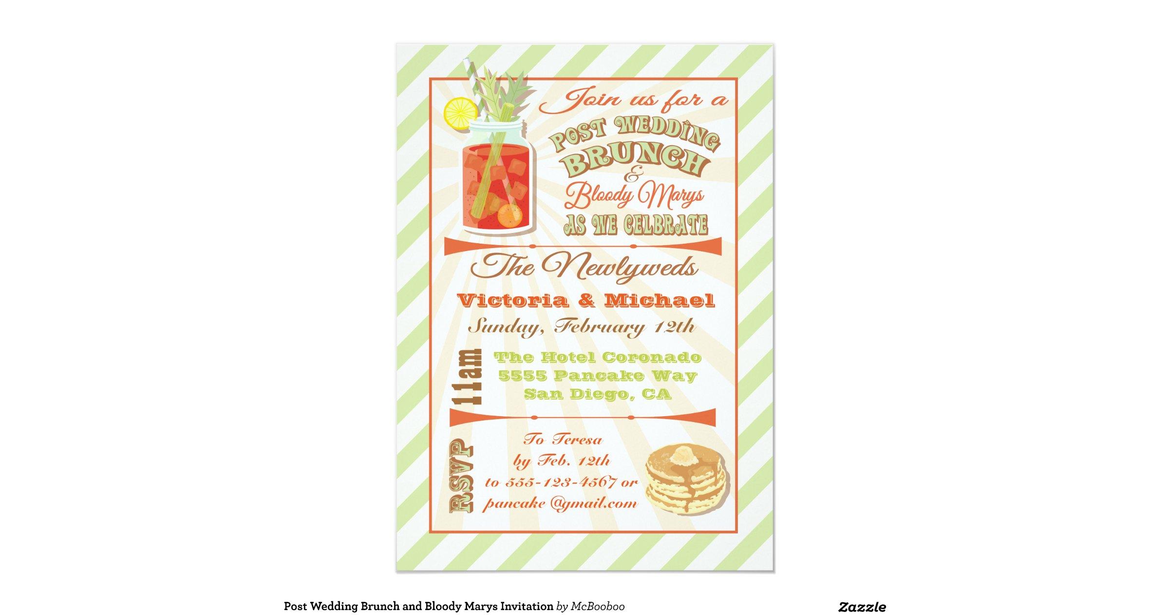 Post Wedding Brunch Invitation Wording: Post_wedding_brunch_and_bloody_marys_invitation