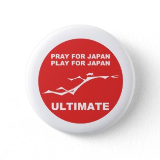 PRAY FOR JAPAN, PLAY FOR JAPAN. (ULTIMATE) button