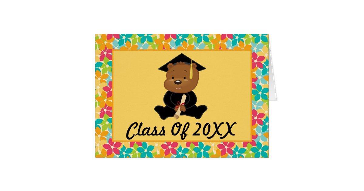 Preschool Or Kindergarten Personalized Graduation Card