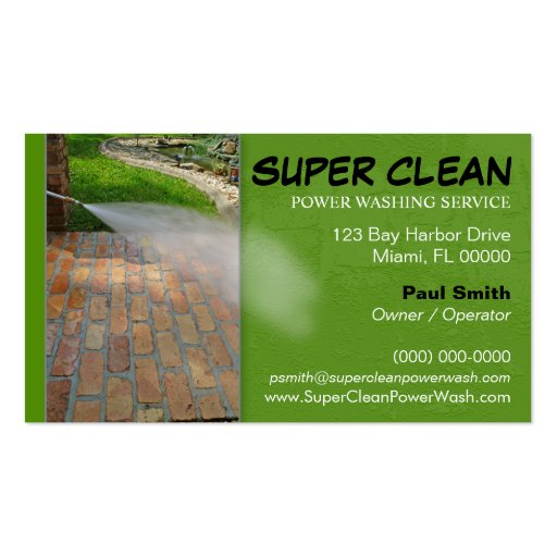 Creating a Business Plan for a Pressure Washing Company