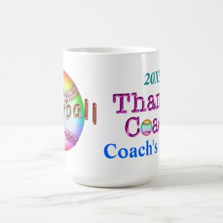Pretty Personalized Coach Mugs Her NAME and YEAR