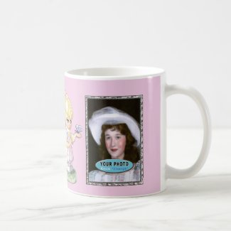 Pretty Personalized Photo Mugs with Text