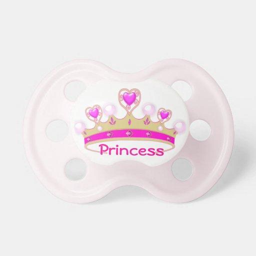 Pretty Princess Crown Baby Pacifier