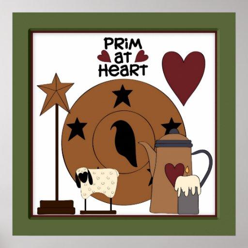 Prim Framed Kitchen Decor