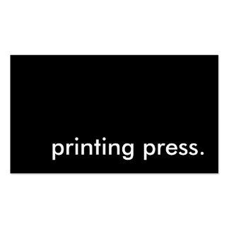 Printing Press Business Plan