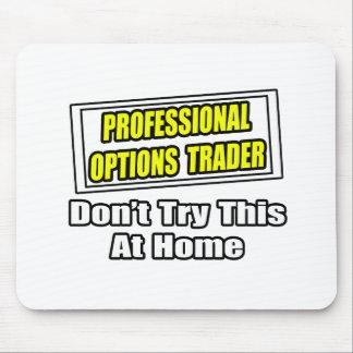 Professional options trader