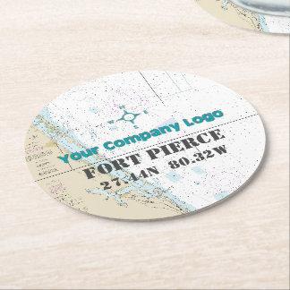 coasters custom paper logo quiz