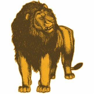 Proud Lion Photo Sculpture photosculpture