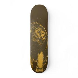 Proud Lion Skateboard skateboard