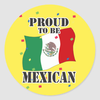 Proud Mexican Stickers | Zazzle