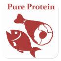 Pure Protein day sticker sticker