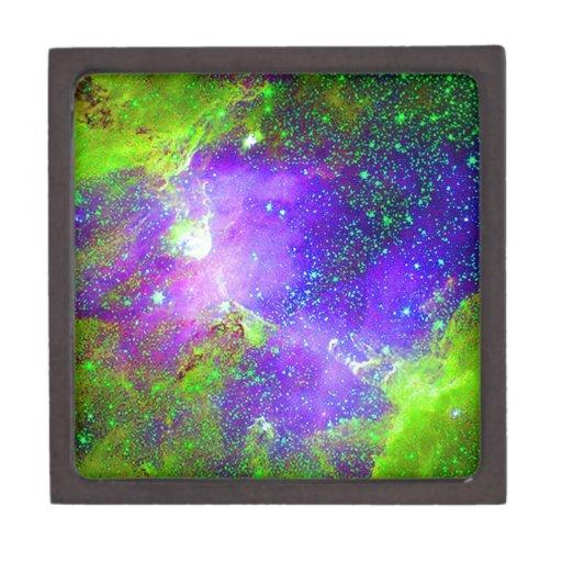 purple and green Galaxy Nebula space image. Premium ...