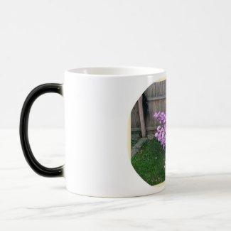 Purple Azalea Morphing Mug mug