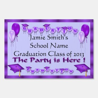 graduation gift ideas from zazzle graduation party yard signs