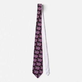 Purple Blanket Abstract tie