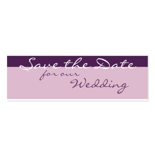 business save the date templates free - purple garden save the date business card templates zazzle