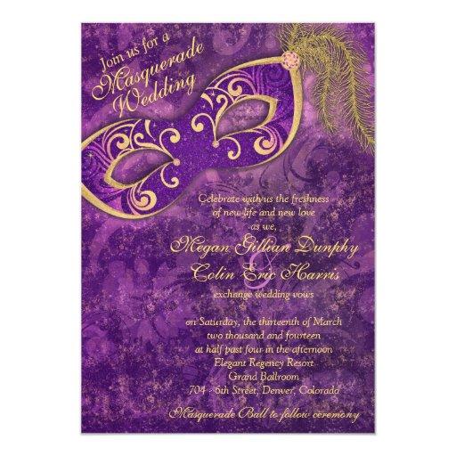 Masquerade Wedding Invitations: Masquerade Ball Invitations, 1300+ Masquerade Ball
