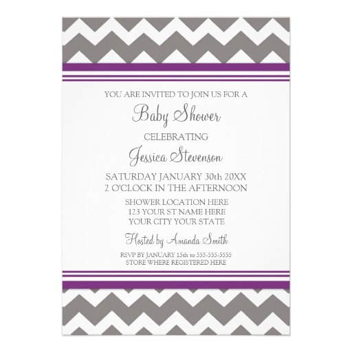 175+ Plum And Gray Invitations, Plum And Gray