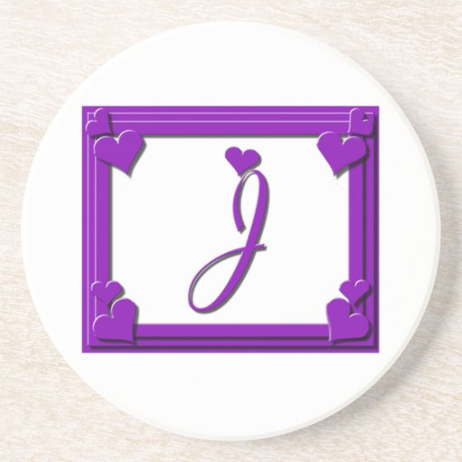 The gallery for --> J Letter Purple
