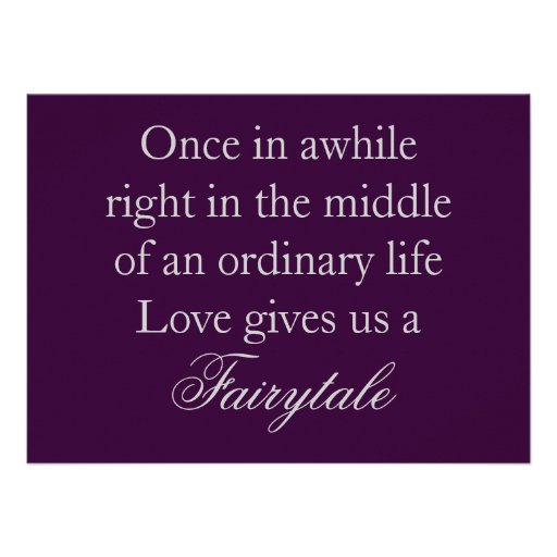 "Quote For Wedding Invitation: Purple Wedding Invitations With Love Quote 5.5"" X 7.5"