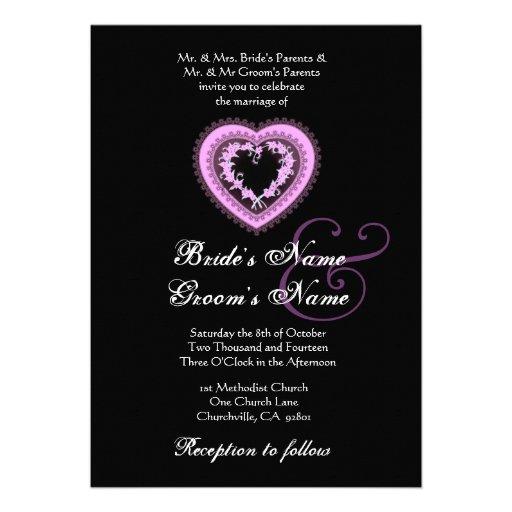 Purple Hearts Wedding 1,000+ Purple Hearts W...