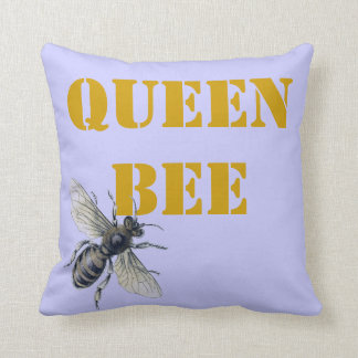Queen Bee Pillows Decorative Amp Throw Pillows Zazzle