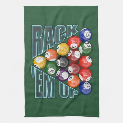 Rack Em Billiard Ball Pool Table Light: T-Shirts, Art, Posters & Other Gift