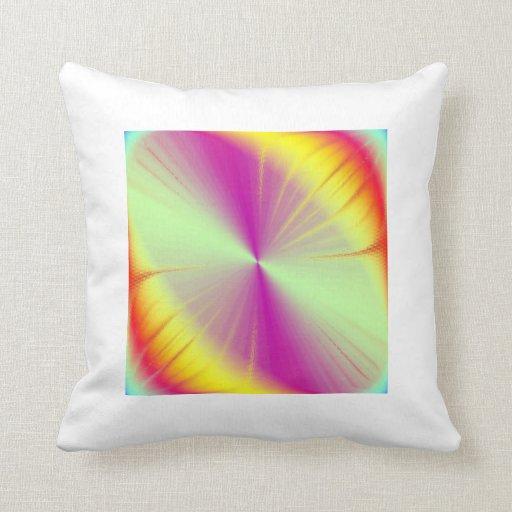 Rainbow Abstraction Pillows