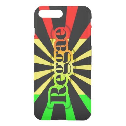 rasta reggae graffiti flag iPhone 7 plus case | Zazzle