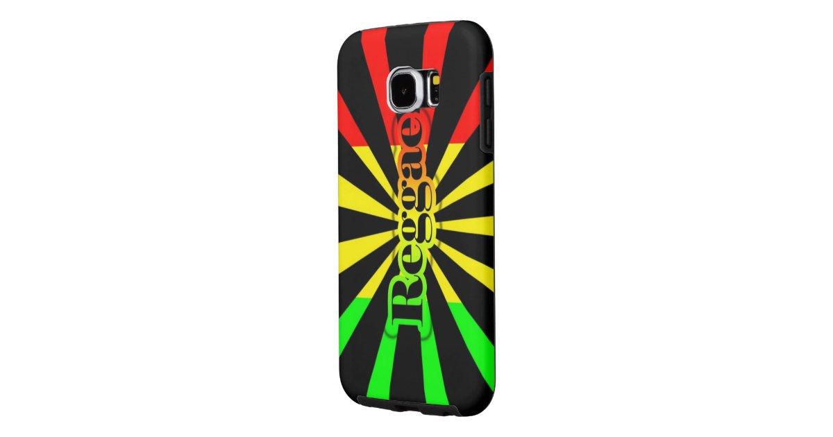 rasta reggae graffiti flag samsung galaxy s6 case | Zazzle