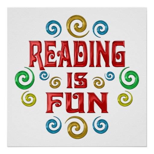 Reading is FUN Poster | Zazzle