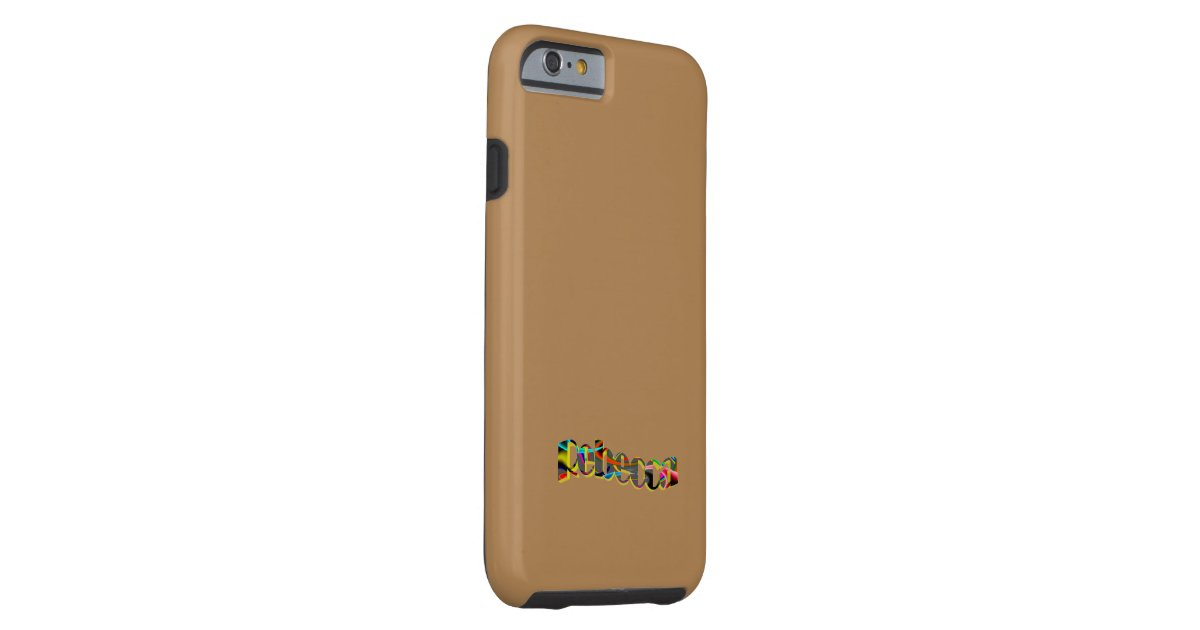 Line Brown Iphone  Case