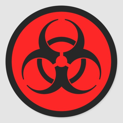 biohazard symbol black - photo #5