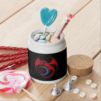 Button Moon Cake Storage Tins