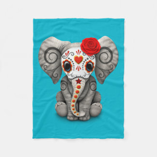Elephant Fleece Blankets | Zazzle