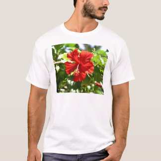 Red Hawaiian Hibiscus T-Shirts & Shirt Designs | Zazzle