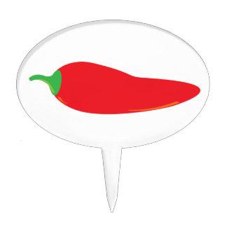 Chili Pepper Cake Decorations