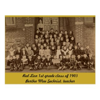 Red Lion 1st Grade Class of 1903