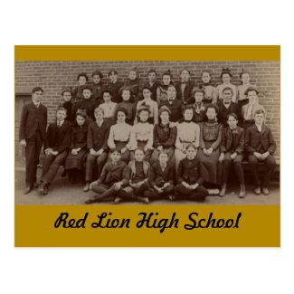 Red Lion High School, circa 1904