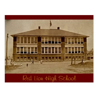 Red Lion High School circa 1920