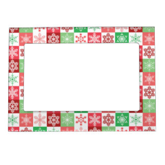 Holiday Magnetic Picture Frames | Zazzle