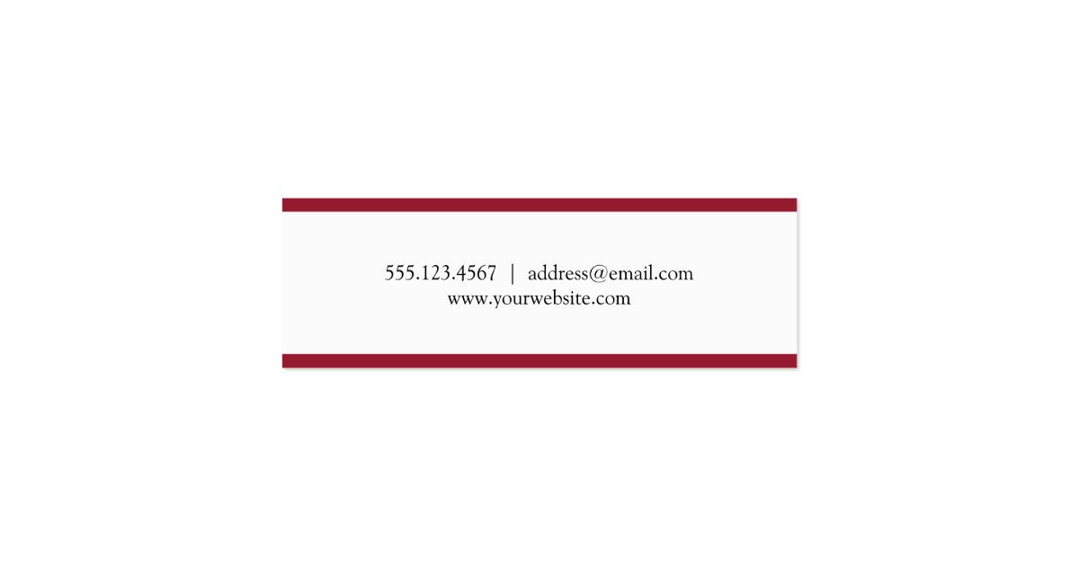Red stripe border graduation cap name card | ZazzleRed Graduation Borders
