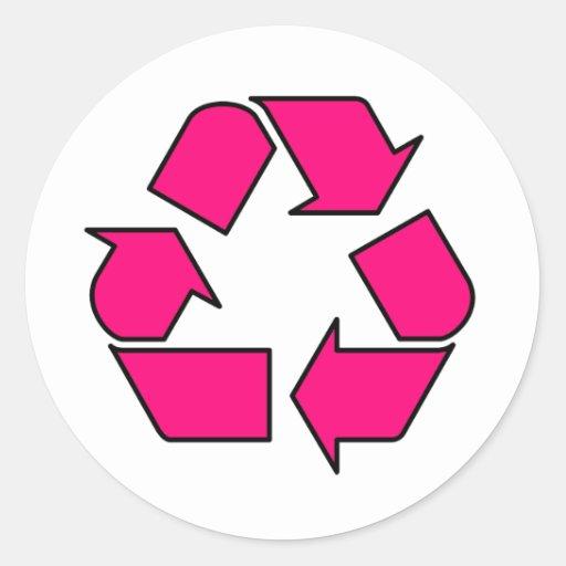 Reduce Reuse Recycle Logo Symbol Arrow 3r Classic Round