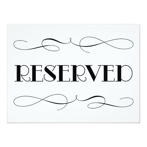 Geeky image with regard to free printable reserved signs