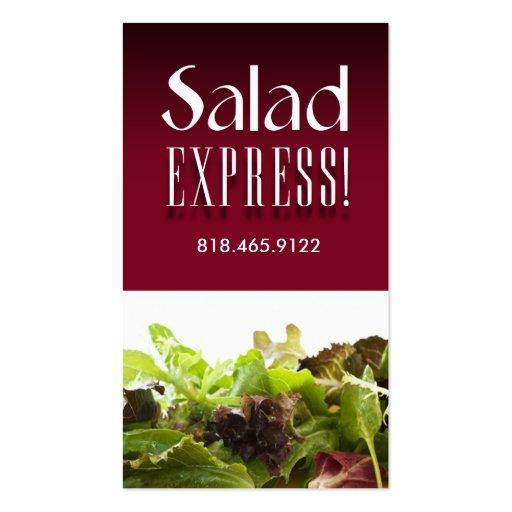 A Sample Salad Bar Business Plan Template