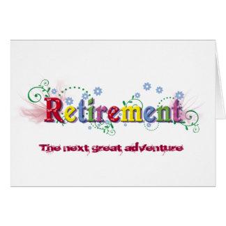 retirement wording cards retirement wording card. Black Bedroom Furniture Sets. Home Design Ideas