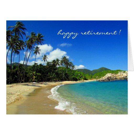 Caribbean Beach: Retiring Caribbean Beach Card