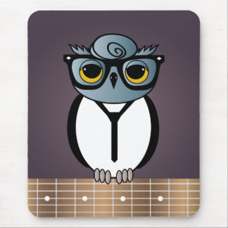 owl playing the guitar - photo #17